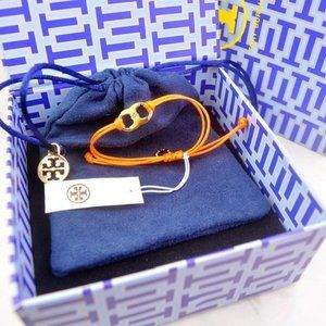 Tory Burch Classic LOGO Couple Orange Hand Rope